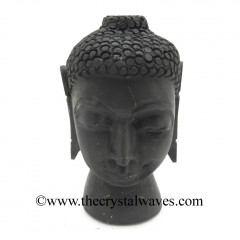 Shungite Small Buddha Head
