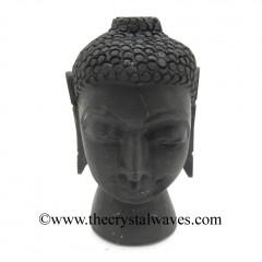 Shungite Buddha Head