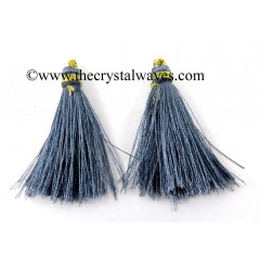 Slate Gray Color Tassels