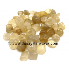 Citrine Quartz Tumbled Nuggets