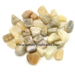 Multi Moonstone Good Quality STH Tumbled Nuggets