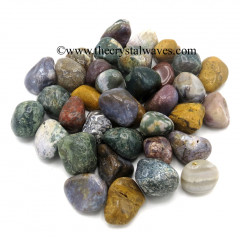Mix Gemstone Tumbled Nuggets Lot# CFLG