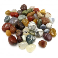 Mix Gemstone Tumbled Nuggets Lot# HCCLR