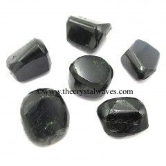 Black Tourmaline Good Quality Tumbled Nuggets