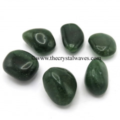 Green Cherry Quartz  Tumbled Nuggets