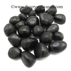 Shungite Tumbled Nuggets Reguar Polish