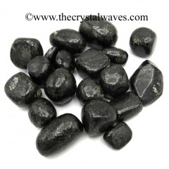Nuummite / Coppernite Tumbled Nuggets